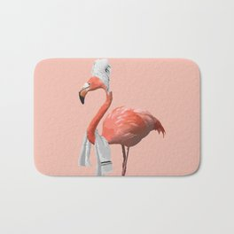 Squeaky Clean Flamingo Bath Mat