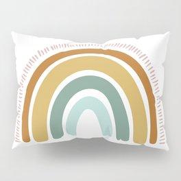 Boho Rainbow Pillow Sham