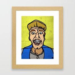 Pitch Perfect Ernest P. Worrell Framed Art Print
