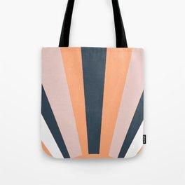 Sun in stripes Tote Bag
