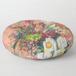 floral arrangement 1 Floor Pillow