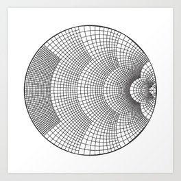 The Smith Chart Art Print