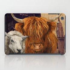 Sheep Cow 123 iPad Case