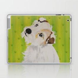 Little Dog Maja Laptop & iPad Skin