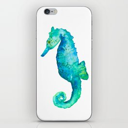 Rudy the seahorse iPhone Skin