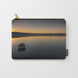 Boat on Knysna lagoon at Sunrise Carry-All Pouch