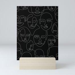 Face Thread Mini Art Print