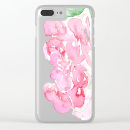 flora series iii Clear iPhone Case