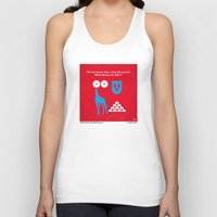 mercedes Tank Tops featuring No145 My THE HANGOVER PART 3 minimal movie poster by Chungkong