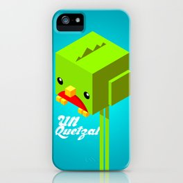Un Quetzal 3D iPhone Case