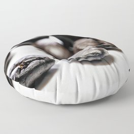 French roast coffee beans Floor Pillow