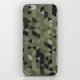 Isometric Camo iPhone Skin