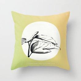 [5.21—5.25] Silkworms Awaken and Eat the Mulberry Leaves Throw Pillow