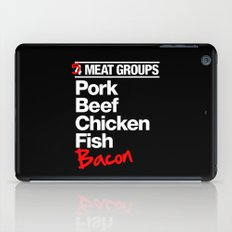 5 Major Meat Groups iPad Case
