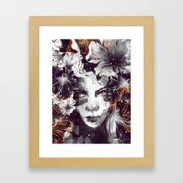 The Wallflower Framed Art Print