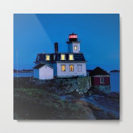 Rose Island Lighthouse; Narragansett Bay, Rhode Island Metal Print