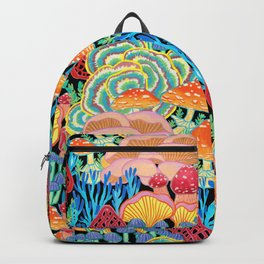 Fungi World (Mushroom world) - BKBG Backpack