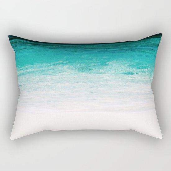 Shades of the Ocean Rectangular Pillow