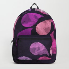 Abstract Water Drops Backpack