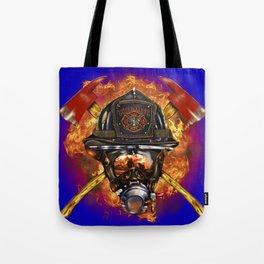 Firefighter rescue volunteer Tote Bag