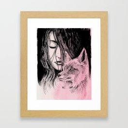 My Daemon Framed Art Print