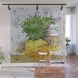 Pineapple Crush Wall Mural