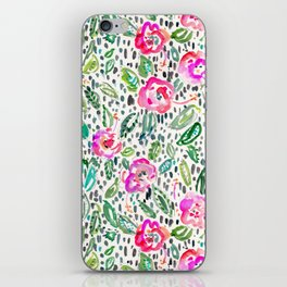 Hibiscus Frolic iPhone Skin