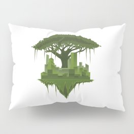 Urban Nature | Forest Tree Life City Pillow Sham
