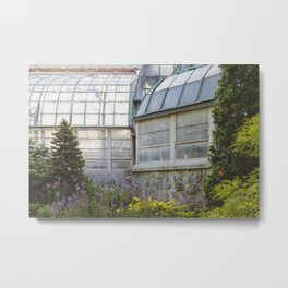 Conservatory in the Morning Metal Print