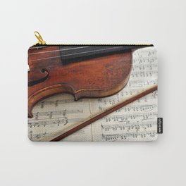 Old violin Carry-All Pouch