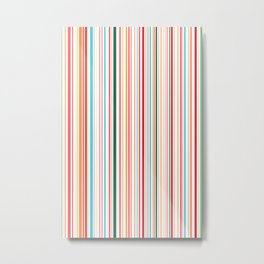 WHY CAN'T BARCODES BE COLORFUL? Metal Print