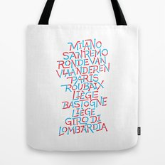 Five Monuments of Cycling Tote Bag