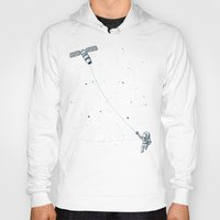 Hoodies featuring Satellite Kite by Jorge Garza