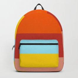 Retro Colors Summer Stripes Vibe Backpack