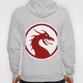 Red Dragon Logo Hoody