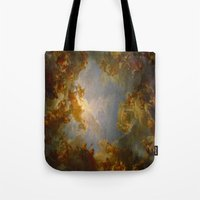 baroque Tote Bags featuring Baroque by Tori Beretta
