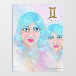Geminis Queen Poster