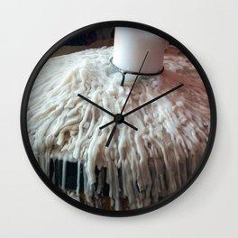 Melting Candles Wall Clock