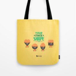 What's your Head Shape? Tote Bag
