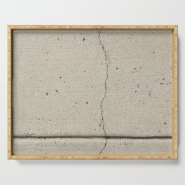 Real, Concrete, not Abstract Serving Tray