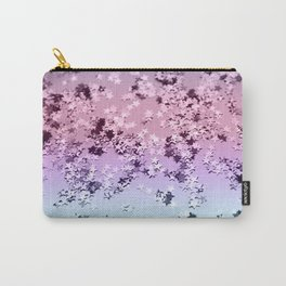 Unicorn Girls Glitter Stars #1 #shiny #pastel #decor #art #society6 Carry-All Pouch