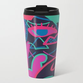 Burn This Metal Travel Mug