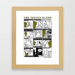 The Office Plant Framed Art Print