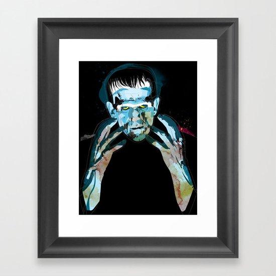 Frankie Framed Art Print