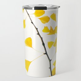 gingko biloba branch Travel Mug