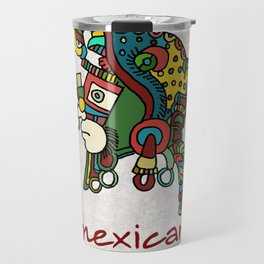 mexican warrior Travel Mug