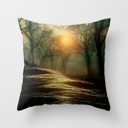 From small beginnings and big endings. by Viviana González Throw Pillow