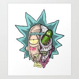 Rick Pickle Art Print