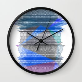 PIPELINE RESONANCE Wall Clock