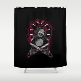 The Last I Saw Shower Curtain